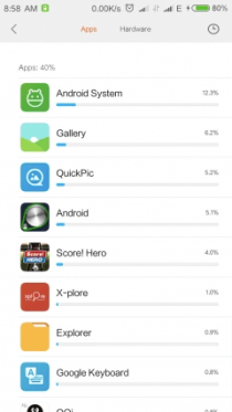 MIUI 8 Redmi Note 3 - 1