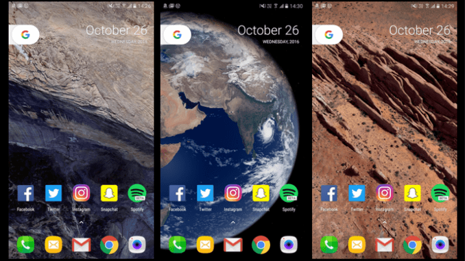 How To Get Google Pixels New Live Earth Wallpapers On Any Android