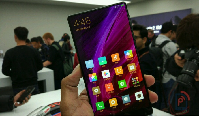 Xiaomi Mi Mix 2 Design Shown Off in Video