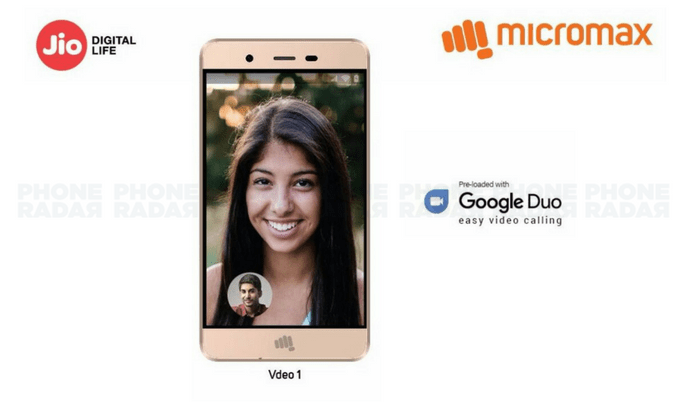 Micromax Vdeo 1 4G VoLTE Smartphone Launched with Jio SIM