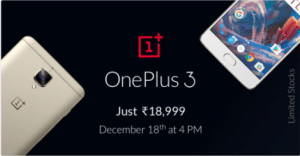 OnePlus 3 Flipkart offer