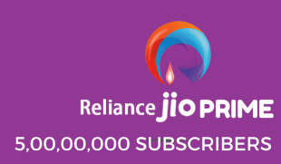 Reliance Jio Prime Subscribers Cross 50 Million, Extension Expected