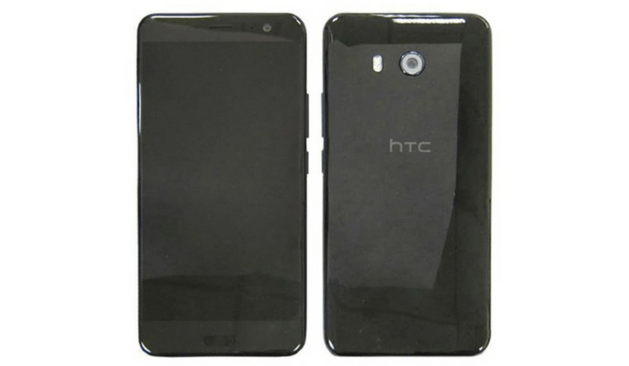 HTC U Ocean Leaked Photos Showcase Front and Rear Side