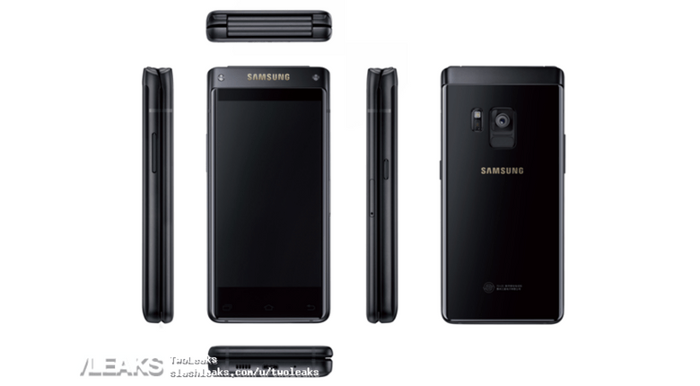Rumoured Samsung flip phone leaked in renders