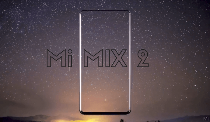 Xiaomi Mi MIX 2 Officially Launching on September 11