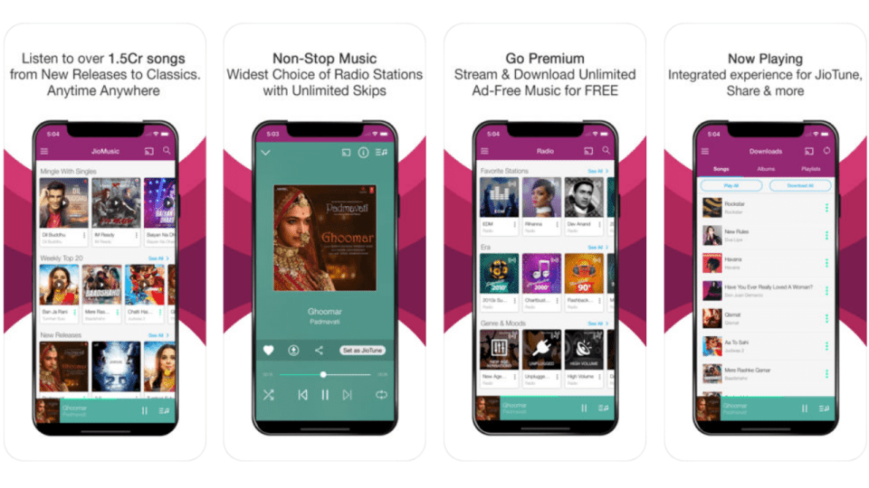 Jio Music is Now JioSaavn, Update Started Rolling Out with 3
