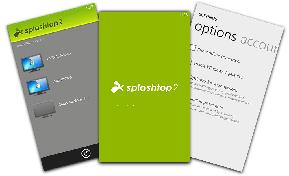 Splashtop 2 per Windows Phone 8: rilasciata l'app per controllare il pc da remoto