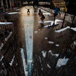 Street Art 3D: quando la prospettiva inganna l'occhio umano