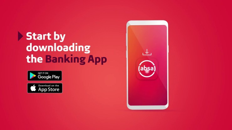 ABSA Online Link A New Device