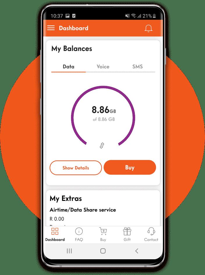 Buy Data on Cell C