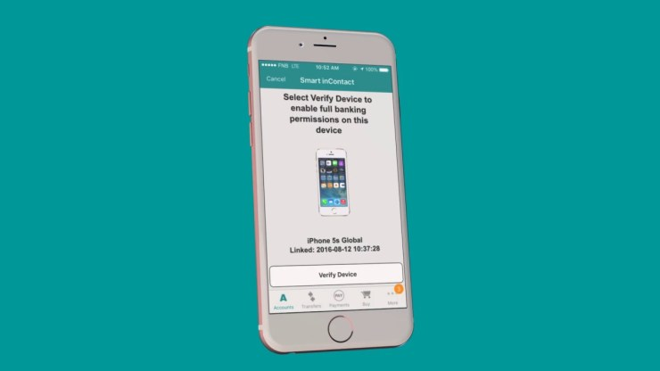 Verify Your FNB Banking App