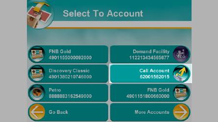 Deposit Money At FNB ATM