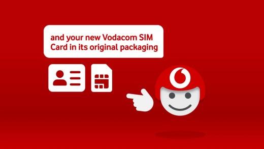 Self-RICA a Vodacom SIM