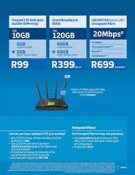 BUY Telkom LTE Bundles