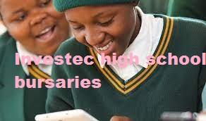 Investec high school bursaries