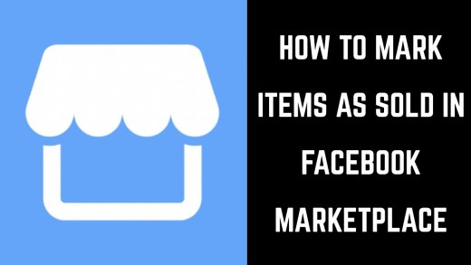 How Mark a post sold on facebook listing