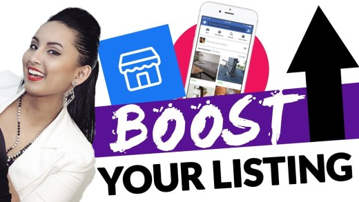What is Facebook Marketplace boost listing