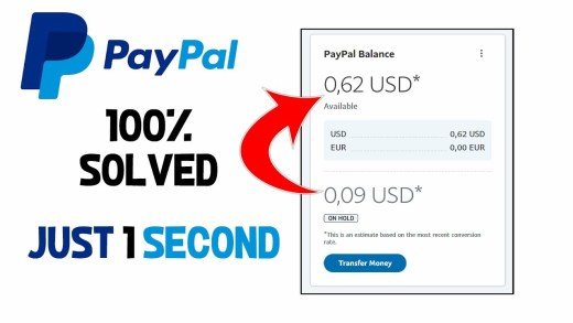 Why Paypal Money iS On Hold