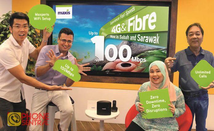 Maxis Fibre in Sarawak