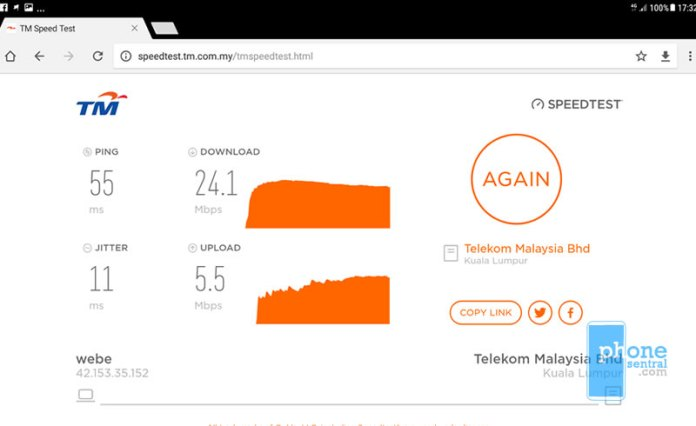Unifi Mobile 4G coverage near MetroCity