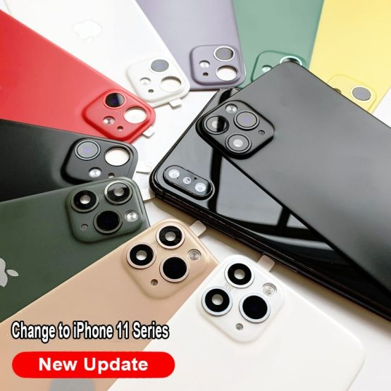 Back Film Protector For Apple iPhone X XS Seconds Change 11 PRO MAX Lens Back Film Protector For Apple iPhone X XS Seconds Change 11 PRO MAX Lens Sticker Modified Camera Cover Titanium Alloy Case Back.