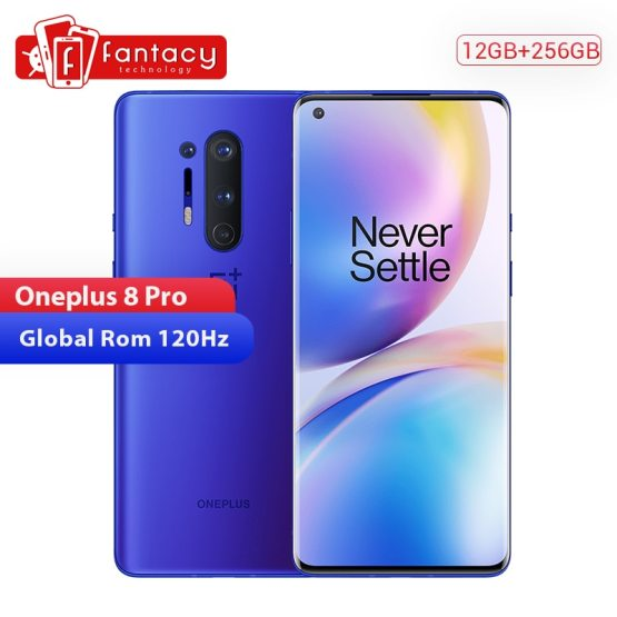 In Stock Global Rom Oneplus 8 Pro 5G Smartphone Snapdragon 865 12GB In Stock Global Rom Oneplus 8 Pro 5G Smartphone Snapdragon 865 12GB 256GB 6.87'' 120Hz Fluid Screen 30W Wireless Charging.