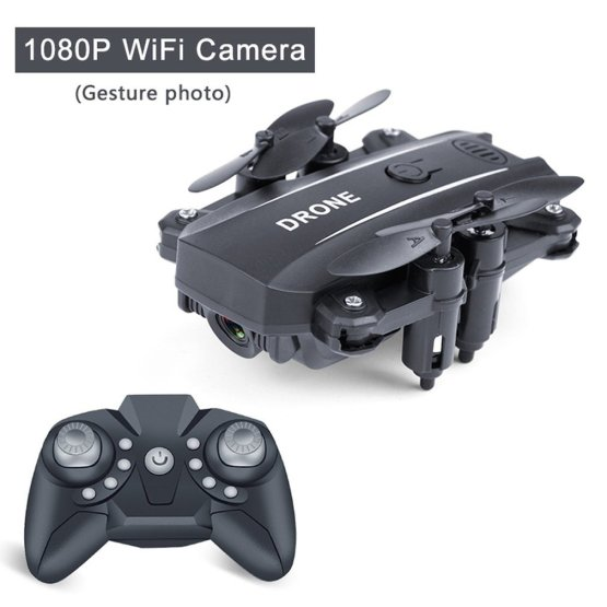 500W Folding Uav Aerial Photography Wifi Four Axis Aircraft Remote Control Helicopter Toy Drone M9