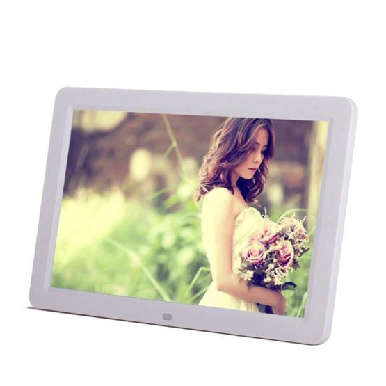 12inch 1080P HD LED Digital Photo Frame(16:9) Multifunction Digital Picture Display 1280x800 with Max 32GB Storage USB2.0 Port
