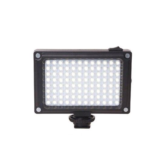 ABKT-Ulanzi 96 LED Video Light Photo Lighting On Camera Rechargeable LED Flash for DSLR Cameras Vlog Wedding Photography Accesso