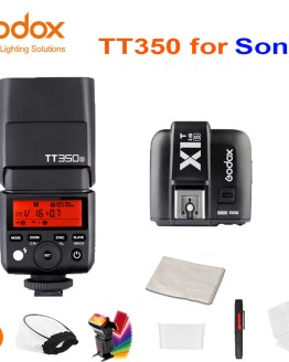 Godox Mini Speedlite TT350S Camera Flash TTL HSS GN36 + X1T-S Transmitter for Sony Mirrorless DSLR Camera A7 A6000 A6500 A7RII