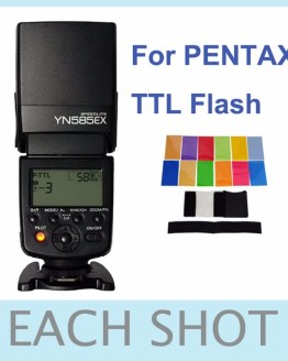 Yongnuo Wireless Flash Speedlite YN585EX P-TTL for Pentax K1 K3 K3II K5 K5II K-5IIs K70 K50 K30 KS2 KS1 DSLR Camera