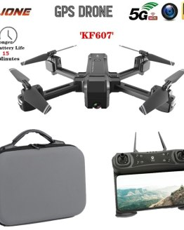 KF607 GPS Drone with 4K HD Dual Camera 1080P 2.4G / 5G Wifi FPV Optical Flow RC Quadcopter Follow Me Mini Dron drones VS E520S