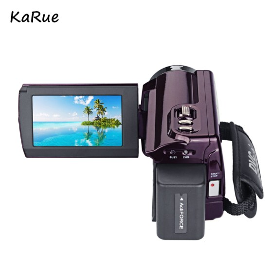 Hot 4K Camcorder Video Camera Camcorders Ultra HD Digital Cameras Video Recorder with Wifi/Infrared Touch screen