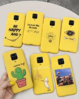 Cartoon Cactus Soft Case For Xiaomi Redmi Note 9S Silicone Phone Cases For Redmi Note 9 Pro Back Cover Redmi Note 9 Pro Max Case