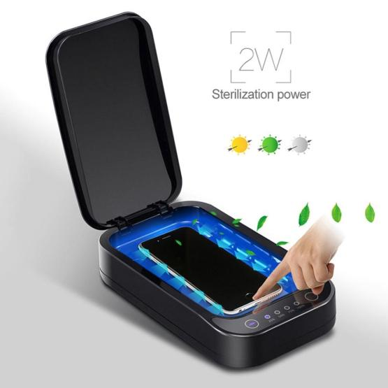 A01 UV Ultraviolet Sterilizer Box Nail Art Cell Phone Disinfection Tool Multifunctional Mobile Phone Sterilizer