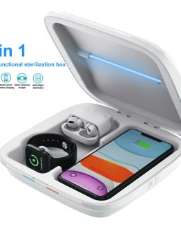 4 in 1 Multifunctional UV Sterilizer Box Lamp Mobile Phone USB Charger UV Sterilization Light Jewelry Toy Sterilization Box