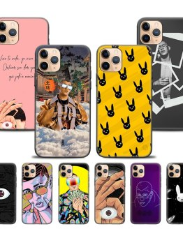 Case Cover for iPhone XR X XS MAX 6S 6 7 8 Plus 5 5S SE 11 11Pro 11ProMAX 7+ 8+ Phone Back Shell Bad Bunny X100pre