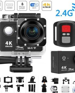 "WiFi 2.0"" 170D 4K Action Camera Ultra HD 4K/25fps H9/H9R Remote Camera Go Waterproof Cam Pro Helmet Camera Sport Cam Video DV"
