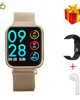 696 P70 Upgraded Version P80 Smart Watch Women IP68 Waterproof Smartwatch Heart Rate Blood Pressure For IPhone Samsung Huawei