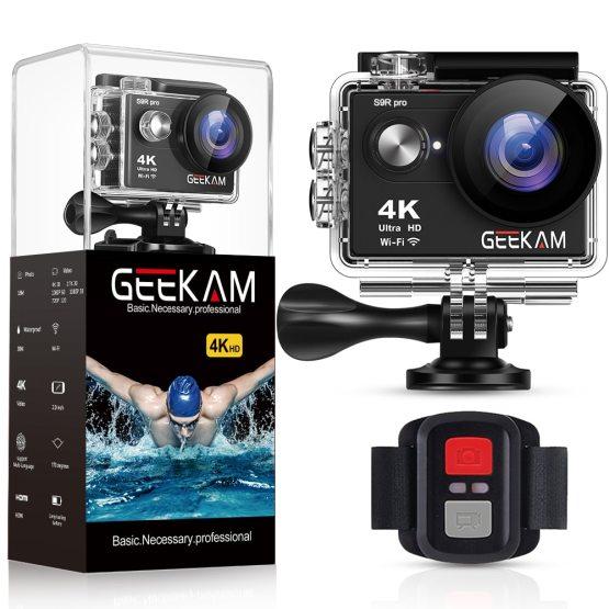 "GEEKAM S9Rpro Action Camera Ultra HD 4K 30fps 16MP WiFi 2.0"" Underwater Waterproof Helmet Video Recording Cameras Sport Cam"
