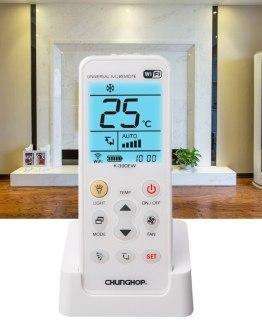 K-390EW WiFi Smart Universal LCD Air Conditioner A/C Remote Control Controller