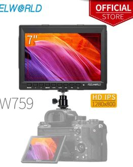 Feelworld FW759 7 Inch IPS 1280x800 Camera Field DSLR Video Monitor