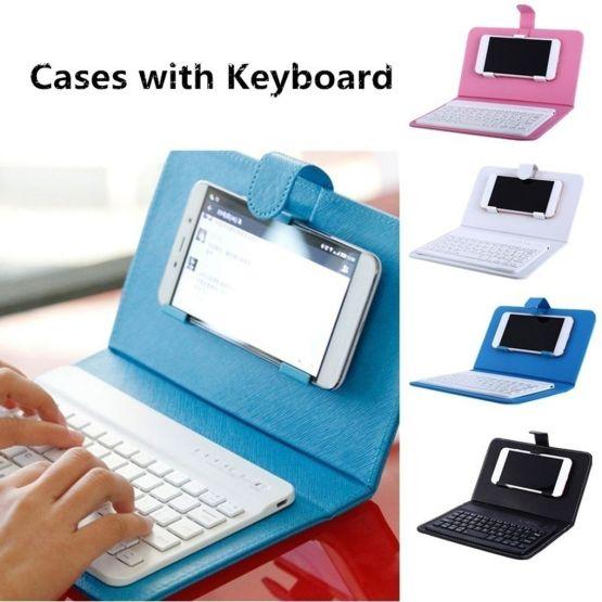 Keyboard Case Mobile Phone Wireless Keyboard PU Leather