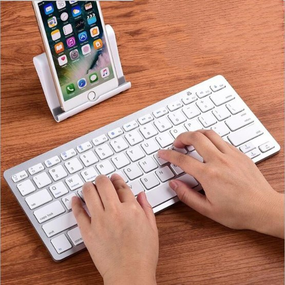 78 Keys Mobile Phone Wireless Keyboard Bluetooth