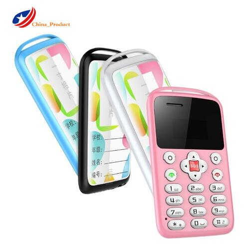 New AEKU M9 Ultra Thin Mini Card Phone Low Radiation Small Pocket Replace Phone Children Pregnants Small Cellphone Mobile Phone