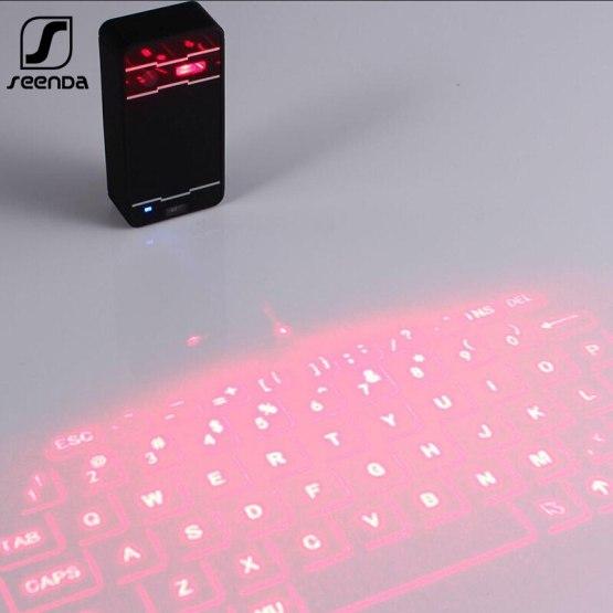 Mini Laser keyboard Wireless Bluetooth Virtual Projectio