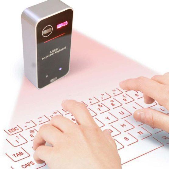 Bluetooth Virtual Laser Keyboard Wireless Projector Keyboard