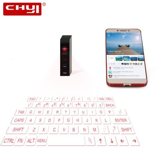 Virtual Wireless Bluetooth Kayboard Portable Mini Handheld