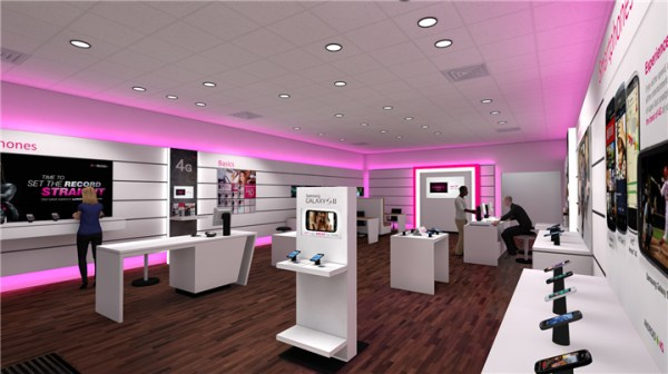#003 T-Mobile Cell Phone Store Design - Custom Mobile Cell ...