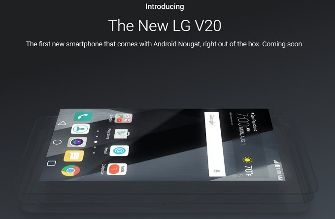 lg v20 introduced